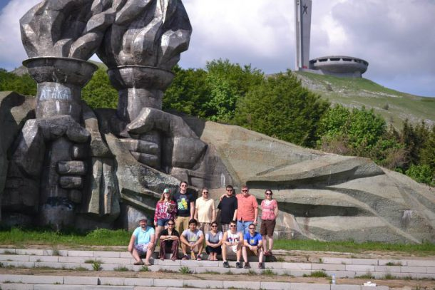 """Image from King's College Facebook The summer study abroad program entitled """"Balkanization and Integration"""" took students to various locations throughout Turkey and Istanbul, including Stara Zagora, Bulgaria."""
