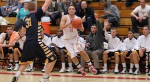 Matt Fiorino was named Freedom Conference Player of the Week after his performance against Wilkes. (King's College Athletics)