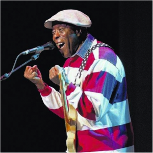 Buddy Guy interacts with the Kirby crowd. Photo Credit: Jason Riedmiller