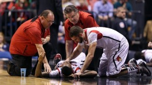 Ware receives attention upon being injured. Photo Credit: espn,com