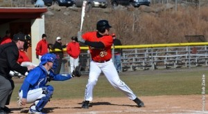 Anthony Lizzi had six runs against PSU-Schuylkill. Photo Credit: King's College Athletics