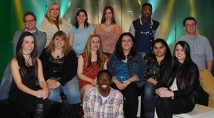 Thirteen contestants auditioned for King's Idol on Feb. 7.  Photo Credit: Student Activities