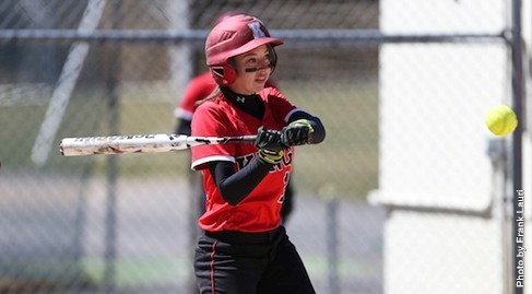 Lady Monarch Softball Splits with National Power
