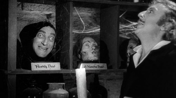 www.flickr.com Marty Feldman (Igor) and Gene Wilder (Dr. Frederick Frankenstein) star in Mel Brooks' 1974 classic, Young Frankenstein.