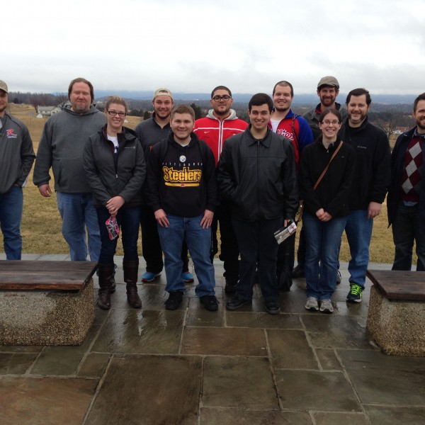 King's Students Visit Site of Bloodiest Day in American History