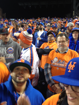 John Flynn//The Crown The 7 Line Army was founded in 2012 by Darren Meenan and continues to faithfully assemble in support of the New York Mets.