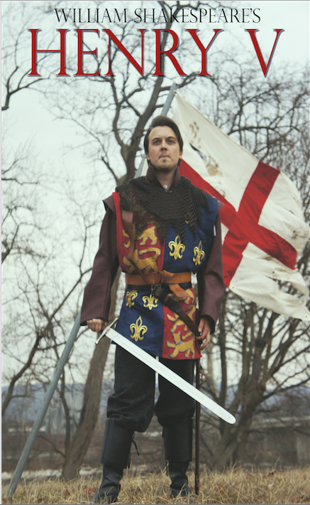 "Image courtesy of King's College Theatre Department Junior Kyle McCormack was one of the stars of King's College's production of ""Henry V."""