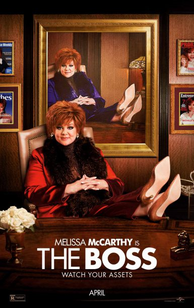 """Image from comingsoon.net """"The Boss"""" is comedian Melissa McCarthy's latest film struggles to strike a consistent comedic tone."""
