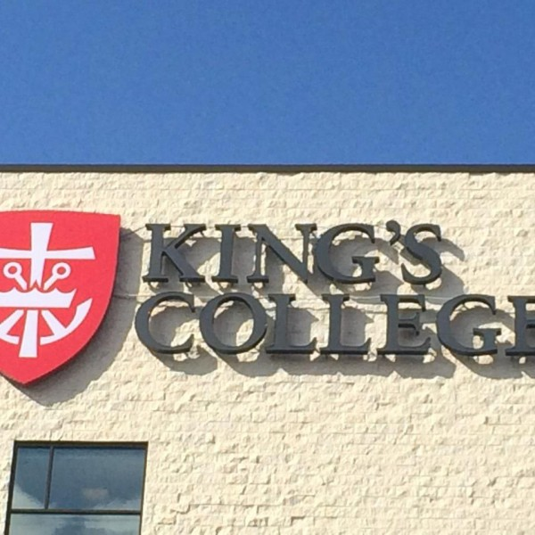 King's College Unveils New Mission Mark