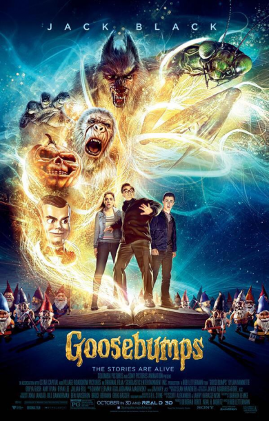 "Image from rlstine.com ""Goosebumps"" was a return to childhood."