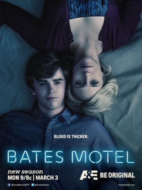 "imdb.com ""Bates Motel"" airs Monday at 9:00 p.m. on A&E and stars Freddie Highmore as Norman Bates and Vera Farmiga as Norma Bates."
