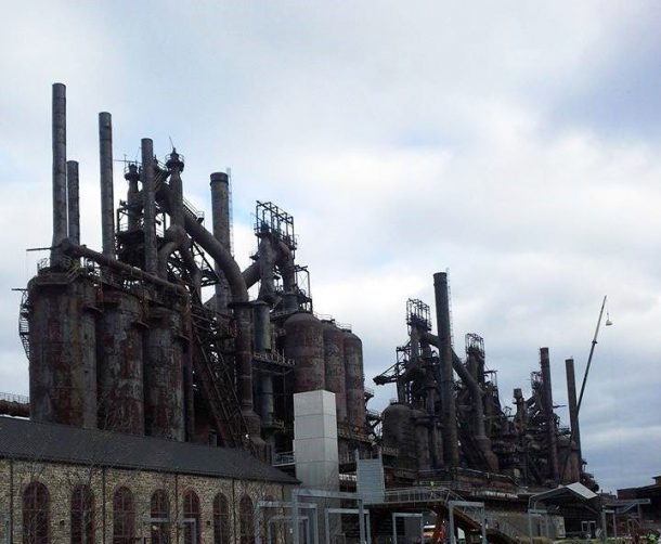 Image courtesy of Jessica Mulligan Bethlehem Steel as it stands today.
