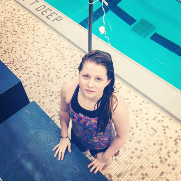 Image courtesy of  Erin Gillespie Erin Gillespie is a first-year student athlete at King's College. As a competitive swimmer since the age of five, she has learned many valuable lessons as a student athlete.